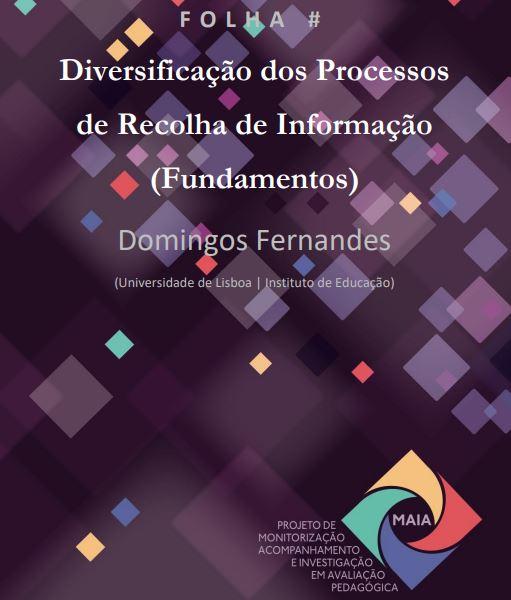 Diversificação dos processos de recolha de informação (fundamentos)