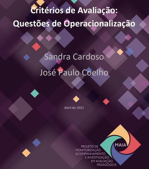 Critérios de avaliação: Questões de operacionalização