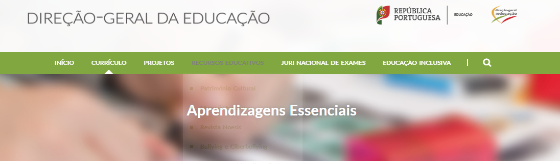 Aprendizagens essenciais para o ensino básico e secundário