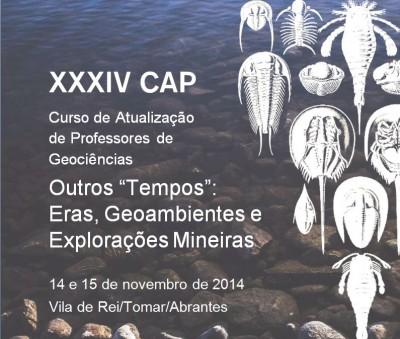 """28NF2014 - XXXIV CAP - Outros """"Tempos"""": Eras, Geoambientes e Explorações Mineiras"""