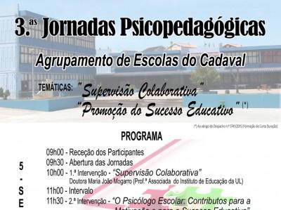 16NF2017 - 3ªs Jornadas Psico-pedagógicas do Agrupamento de Escolas do Cadaval